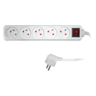 SPC - 5 Outlets with switch Pikendusjuhe