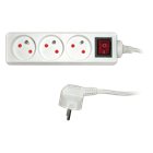 SPC - 3 Outlets with switch Pikendusjuhe